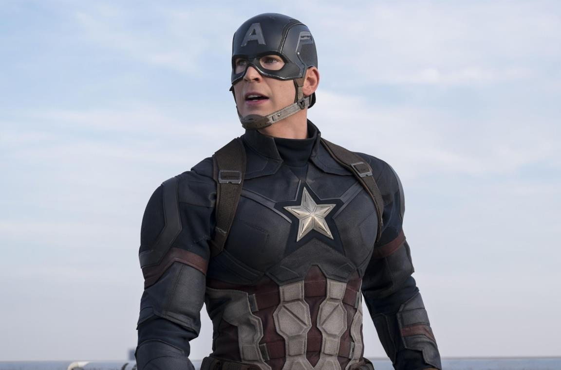 Chris Evans come Capitan America
