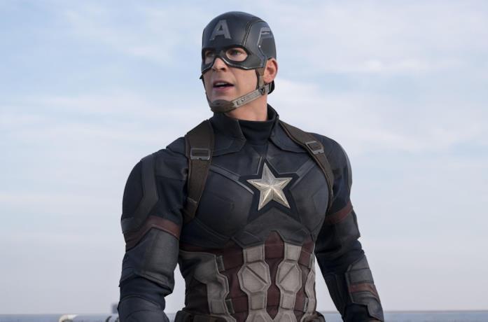 Chris Evans come Capitan America