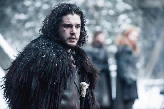 Kit Harington in un'immagine da Game of Thrones