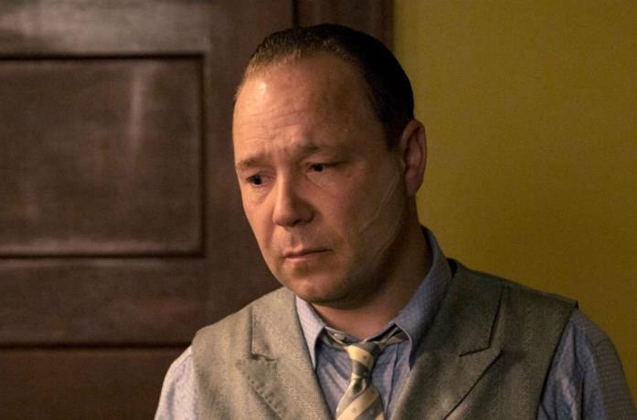 Un'immagine di Stephen Graham come Al Capone