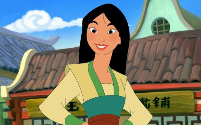 Una scena del film Disney Mulan (1998)