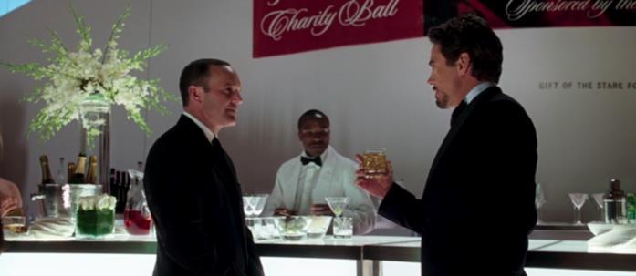 Tony e Coulson parlano