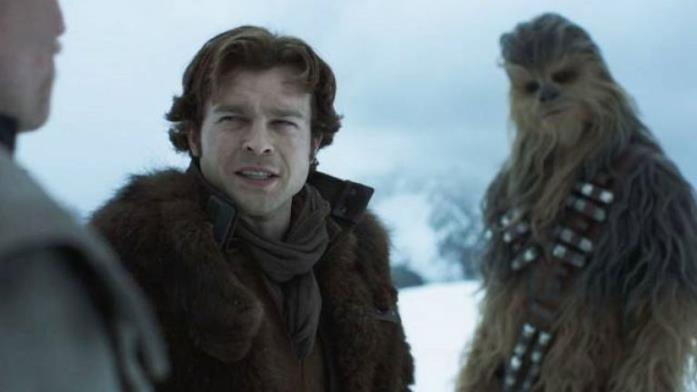 Una scena di Solo: A Star Wars Story
