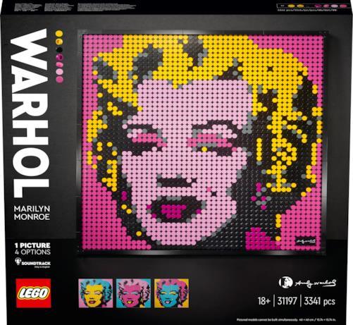 Marilyn Monroe, il box del set visto frontalmente