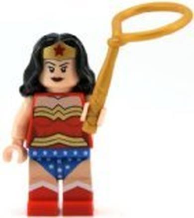 Super Heroes: Wonder Woman Minifigura Con Lasso
