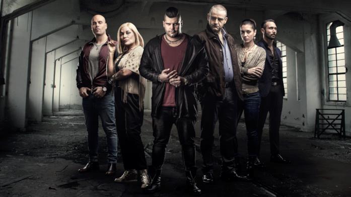 Alcuni dei protagonisti di Gomorra - La serie