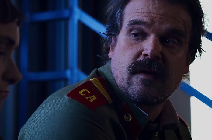 """Hopper vestito con la divisa """"russa"""""""
