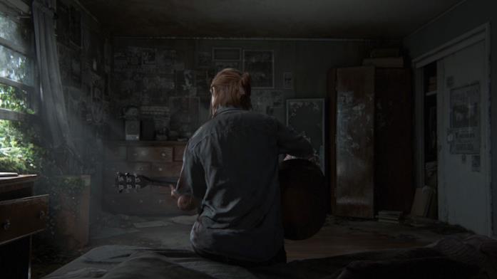 Ellie The Last of Us chitarra