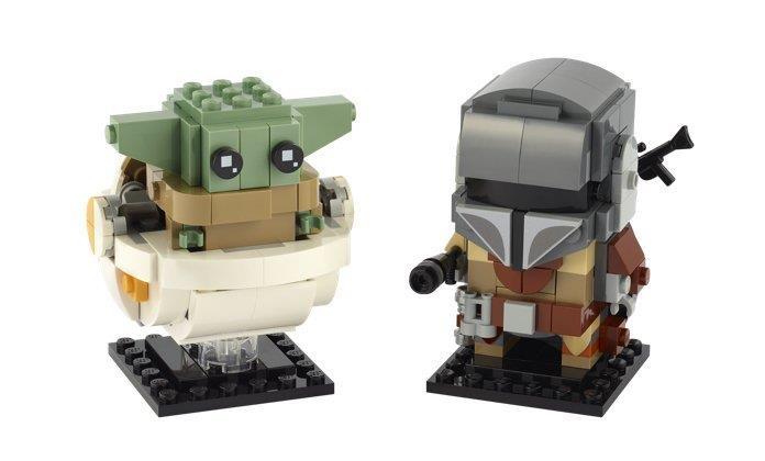 Baby Yoda BrickHeadz
