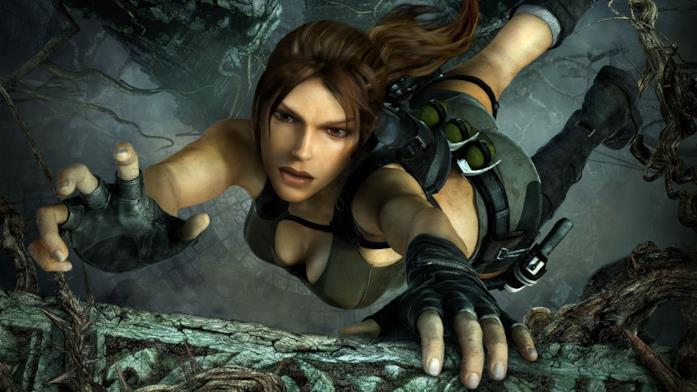 Lara Croft in Tomb Raider Underworld