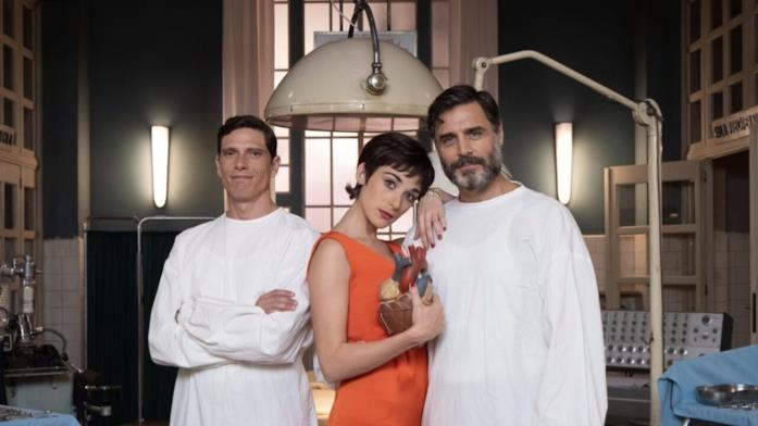 Il cast della fiction RAI Cuori
