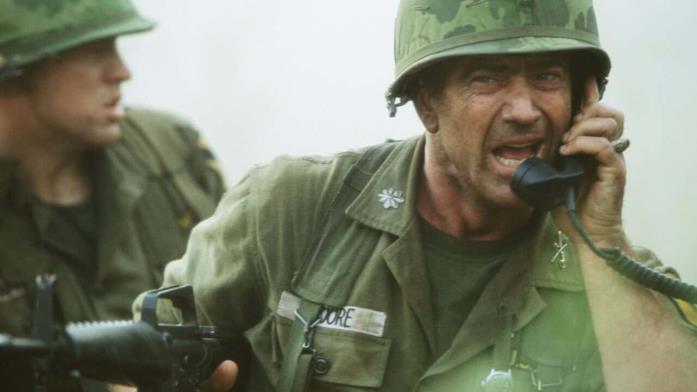 Mel Gibson in una scena di We Were Soldiers - Fino all'ultimo uomo