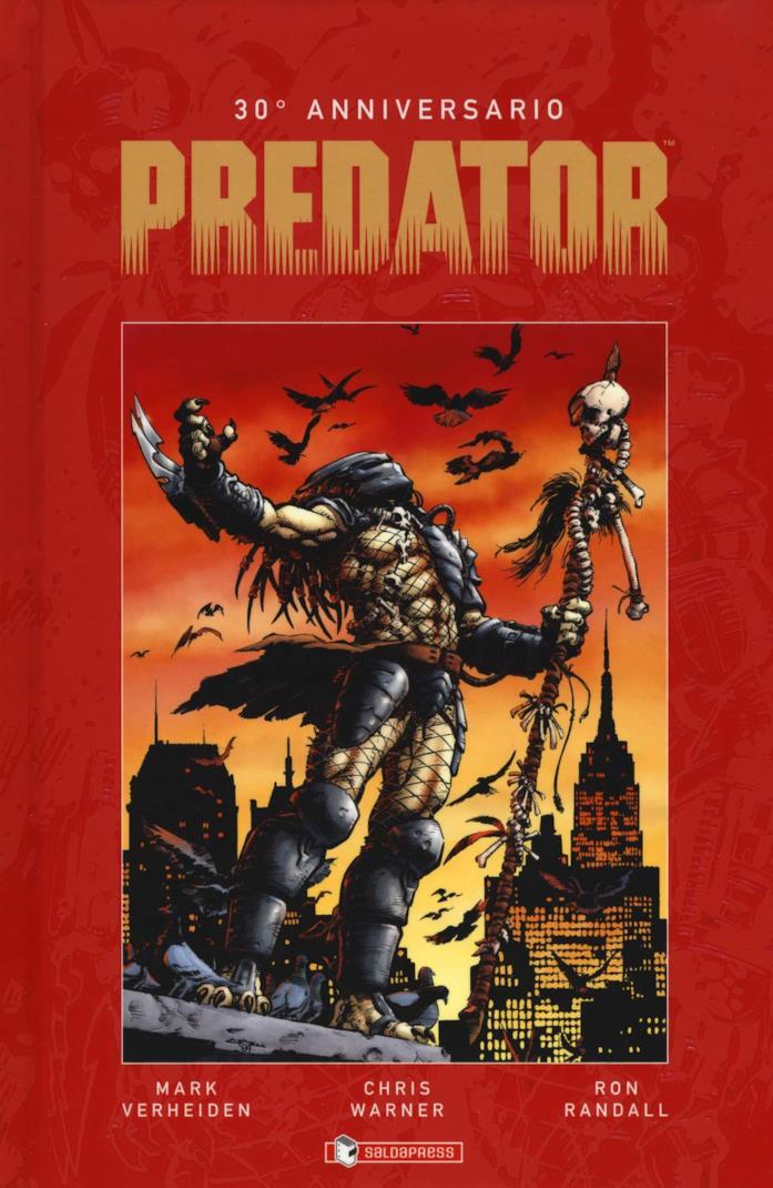 La cover di Predator. 30º anniversario