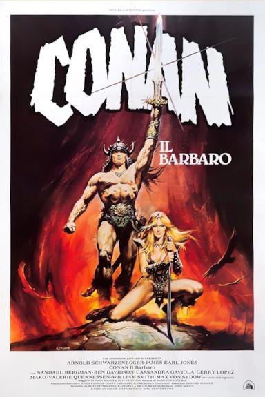Poster Conan il barbaro