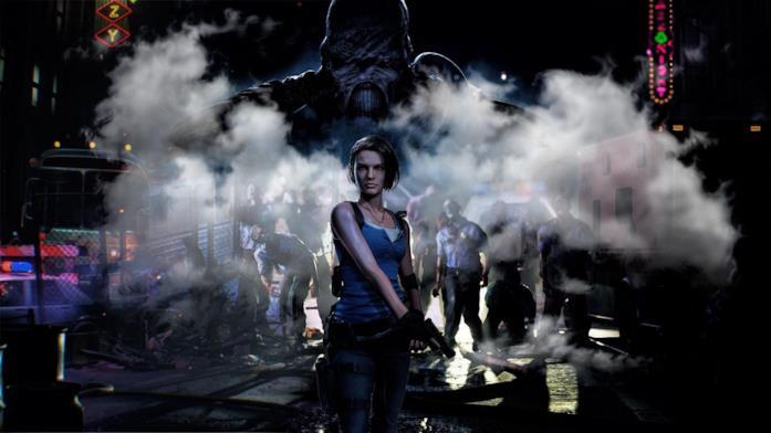 Un'immagine promozionale di Resident Evil 3