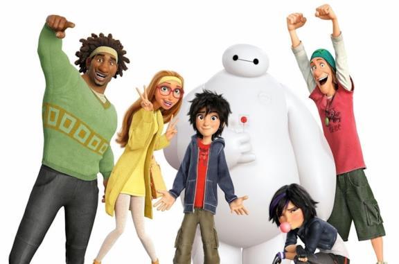 I personaggi di Big Hero 6