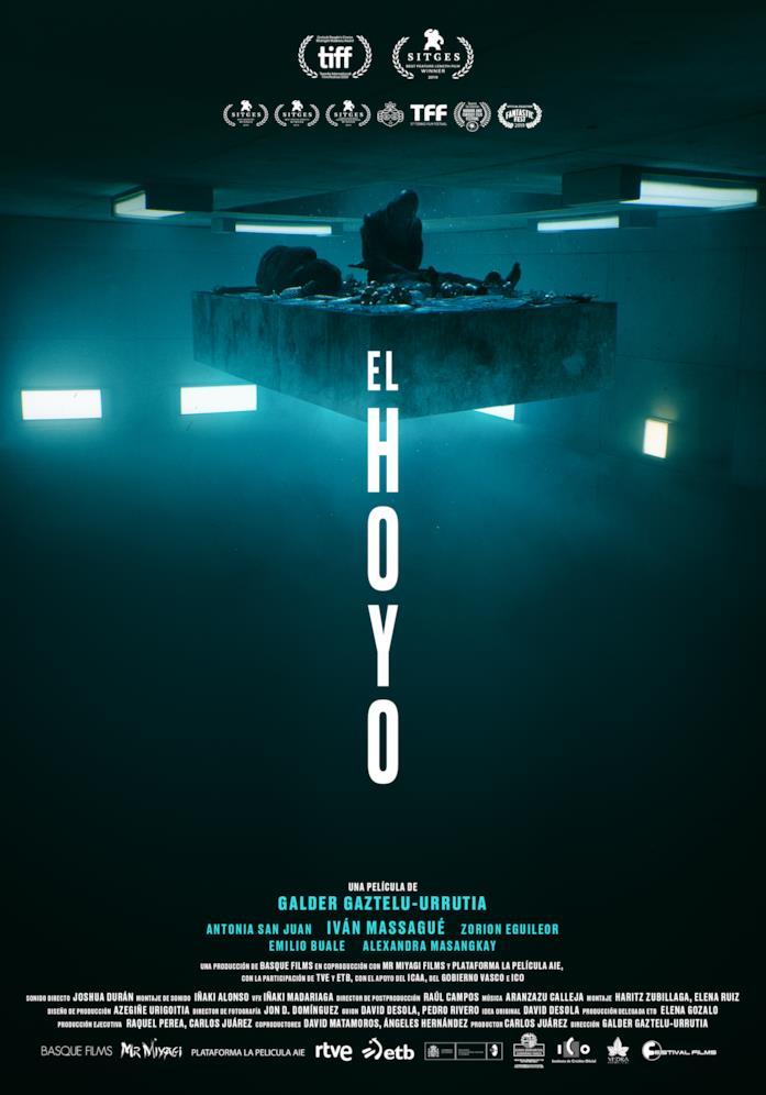 Il poster del film Il buco