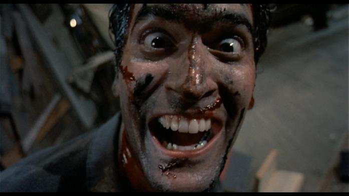 Lo sfortunato Ash è interpretato da Bruce Campbell