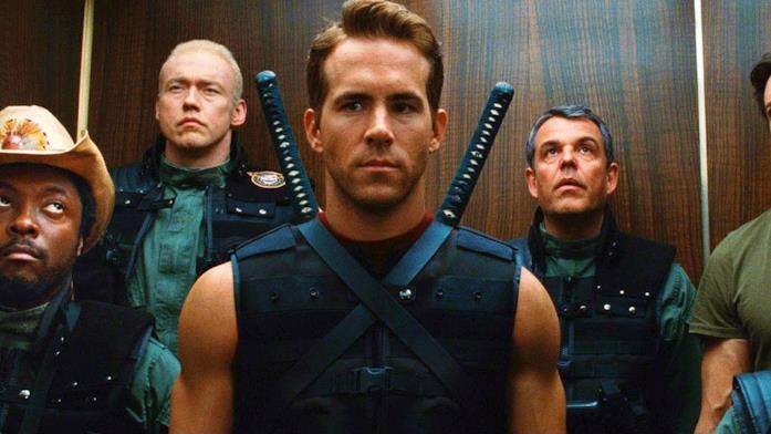 Ryan Reynolds nei panni di Wade Wilson in X-Men le origini