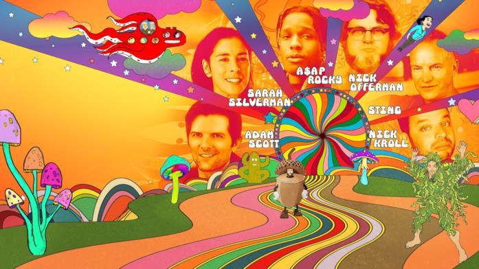 Un'immagine promo di Un buon trip: avventure psichedeliche