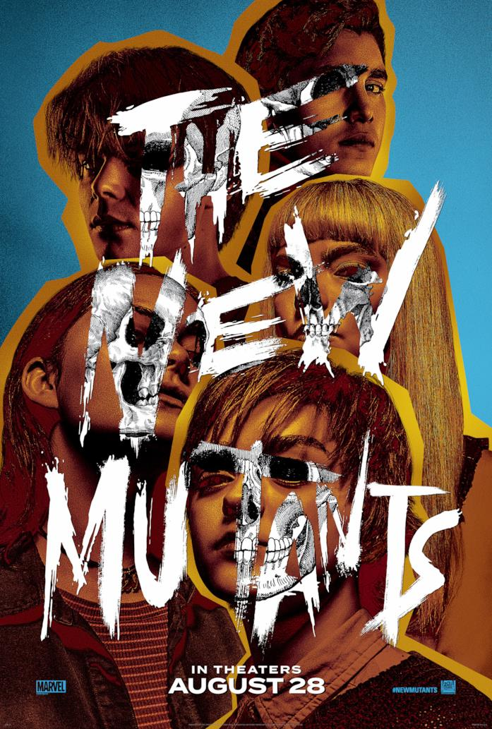 I protagonisti di The New Mutants