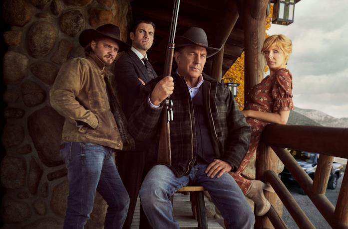 Il cast di Yellowstone