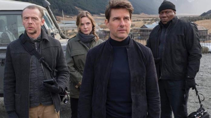 La squadra di Ethan Hunt in Mission Impossible 6