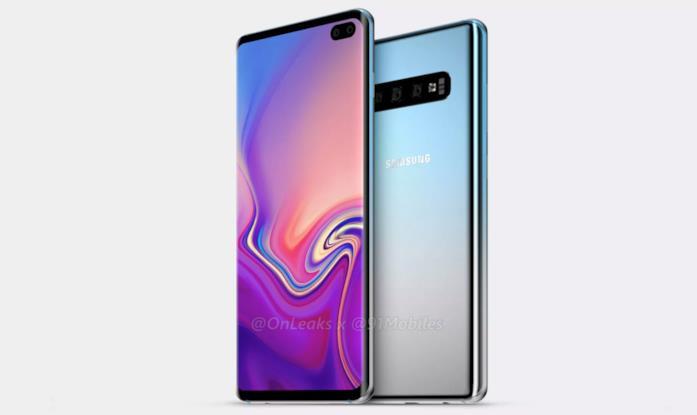 Samsung Galaxy S10 Plus, render di OnLeaks e 91mobiles