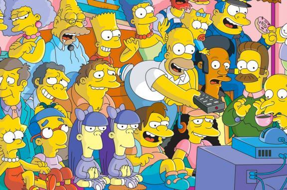 I personaggi principali de I Simpson