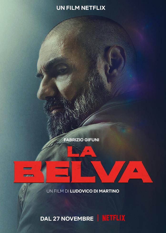 Il poster di La Belva