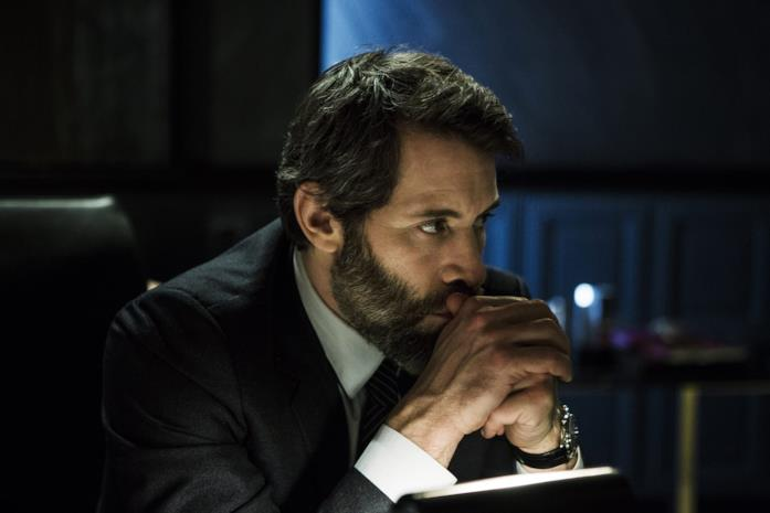 Jalil Lespert in una scena del film Iris