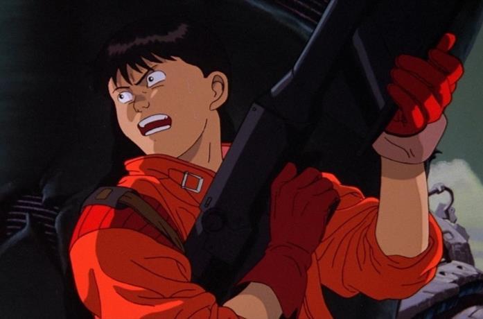 Una scena dell'anime Akira di Katsuhiro Ôtomo