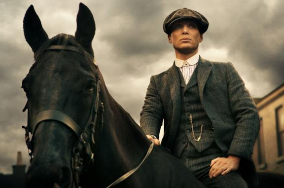 "Cillian Murphy è Thomas ""Tommy"" Shelby in Peaky Blinders"