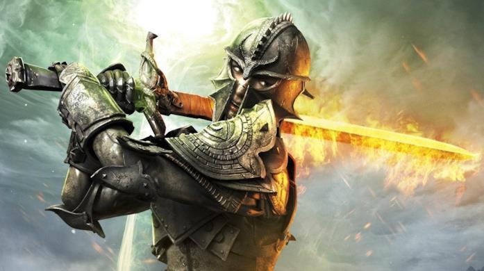 Uno degli eroi di Dragon Age: Inquisition