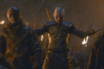 Il re della notte nell terzo episodio dell'ottava stagione