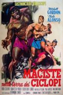 Poster Maciste nella terra dei ciclopi