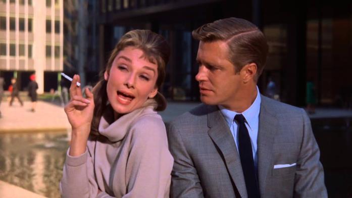 Holly e Paul in una scena di Colazione da Tiffany