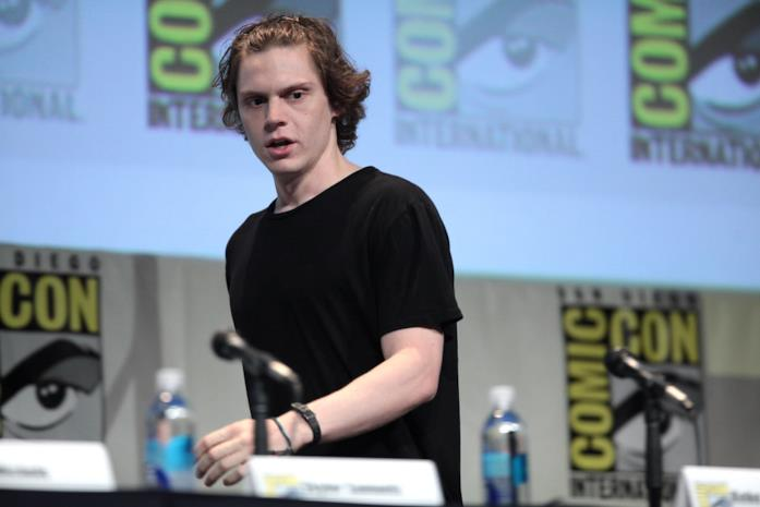 Evan Peters al Comic-Con di San Diego