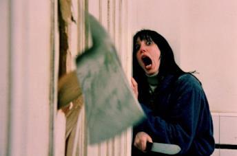 Wendy in un'emblematica scena del film