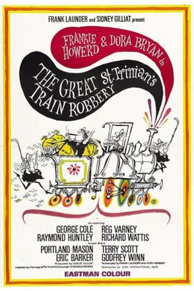 Poster The Great St. Trinian's Train Robbery