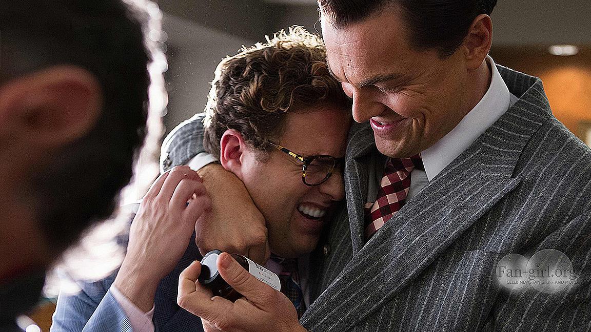 Il vero Jordan Belfort e Leo DiCaprio