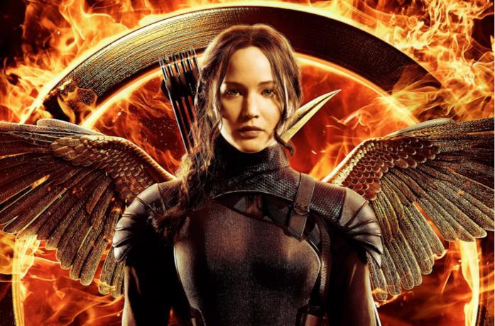 Un'immagine di Katniss Everdeen