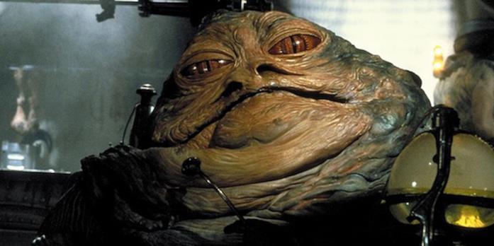 Il volto di Jabba the Hutt