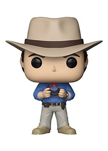 Funko- Pop Vinile Jurassic Park Dr. Alan Grant Personaggio, 9 cm, 26729