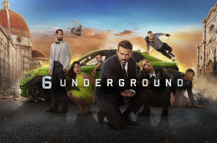 Il cast completo di 6 Underground