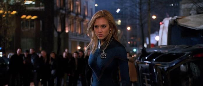 Jessica Alba in I Fantastici 4