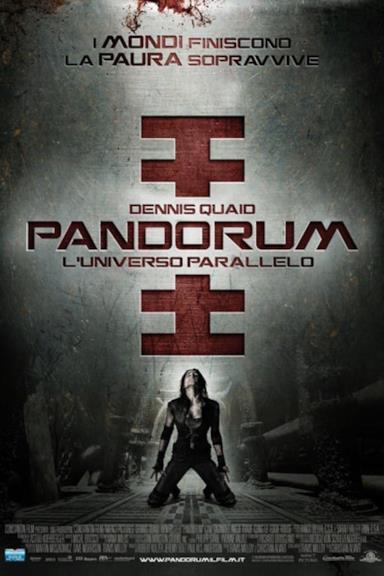 Poster Pandorum - L'universo parallelo