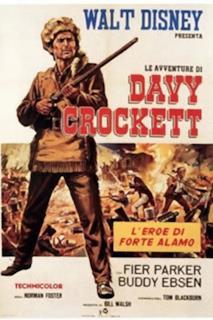 Poster Le avventure di Davy Crockett