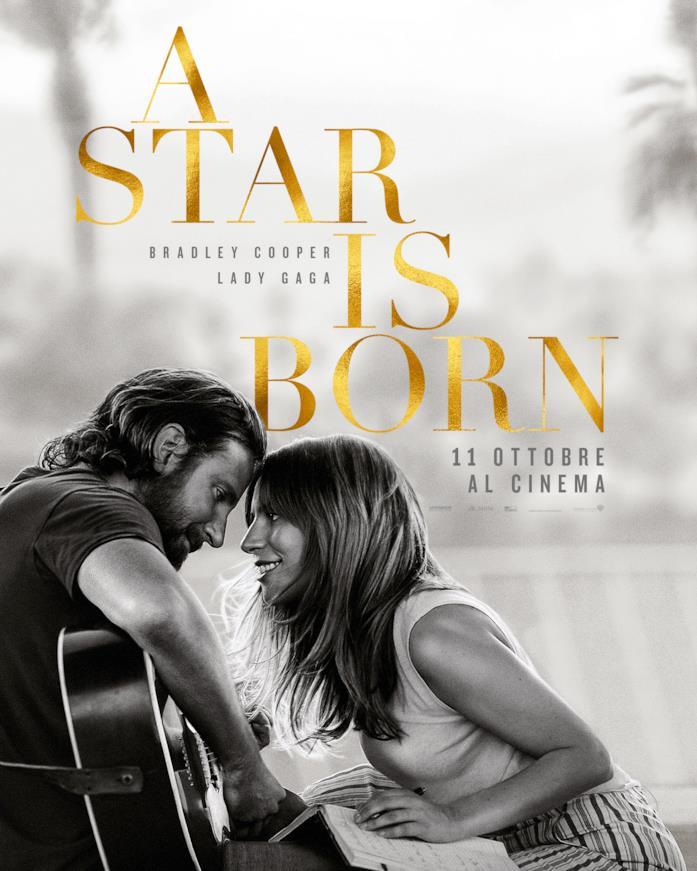 Il poster di A Star Is Born