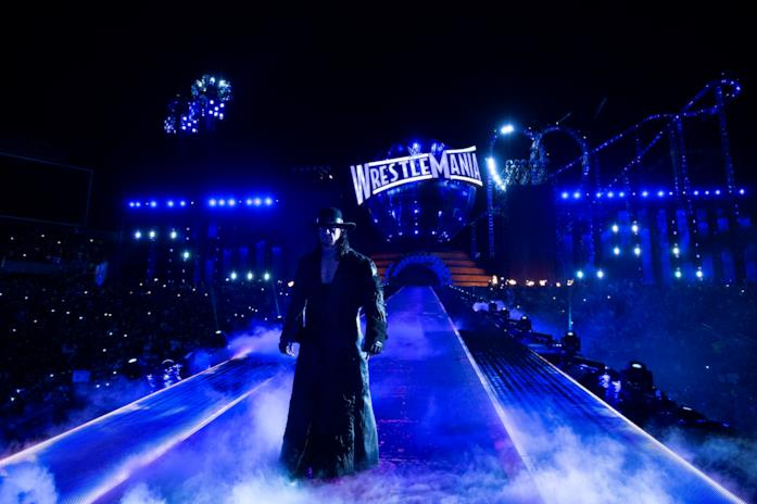 The Undertaker a WrestleMania 33